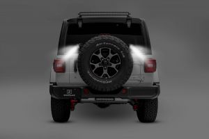 """ZROADZ Rear Spare Tire LED Mounting Kit with Two 3"""" LED Light Pods For 2018+ Jeep Wrangler JL 2 Door & Unlimited 4 Door Models Z394951-KIT"""