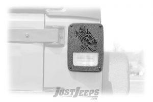 Fishbone Offroad Tail Light Covers For 2007-18 Jeep Wrangler JK 2 Door & Unlimited 4 Door Models FB31043