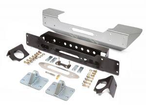 Genright Off Road Stubby Style Front Bumper - Aluminum For 2007-18 Jeep Wrangler JK 2 Door & Unlimited 4 Door Models FBB-8040