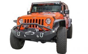 Fishbone Offroad Full Width Front Winch Bumper for 07-18 Jeep Wrangler JK FB22068