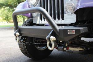 Fishbone Offroad Piranha Front Bumper for 76-86 Jeep CJ & Wrangler YJ FB22080
