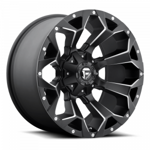 Fuel Off-Road D546 Assault Wheel In Matte Black D546-