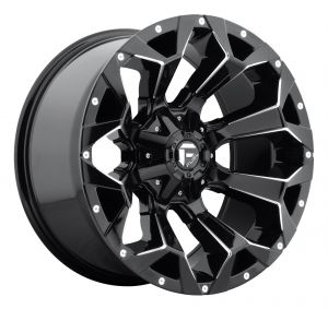 Fuel Off-Road D546 Assault Wheel in 17x9 with 4.5in Backspace Gloss Black D57617902645