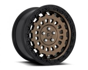 Fuel Off-Road Zephyr D634 Wheel, 20x9 with 5 on 5 Bolt Pattern - Bronze / Black - D63420907557