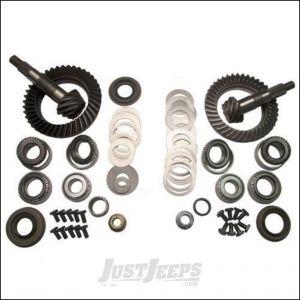 G2 Axle & Gear 4.56 Ring & Pinion Kit Front & Rear For 2007-18 Jeep Wrangler JK 2 Door & Unlimited 4 Door Rubicon Models With Dana 44 Front & Rear Axle 4-JKRUB-456