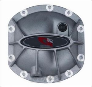 G2 Axle & Gear Hammer Aluminum Differential Cover In Black Powdercoated For Dana 30 Axle Assemblies 40-2031ALB