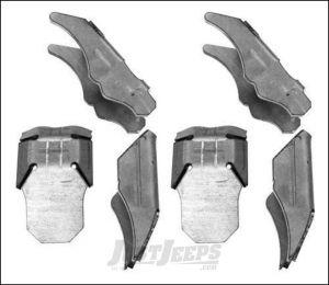 G2 Axle & Gear Weld On C Gusset Kit For Dana 30 & 44 Front Differentials For 2007-18 Jeep Wrangler JK 2 Door & Unlimited 4 Door Models 68-2051-2