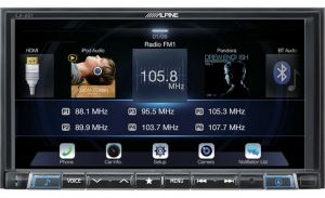 Alpine Digital multimedia receiver with Android Auto™ and Apple CarPlay® ILX-207