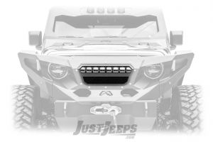 "Fab Fours Grumper 20"" LED Light Insert For 2018+ Jeep Wrangler JL 2 Door & Unlimited 4 Door Models GR4606-1"