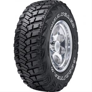 Goodyear Wrangler MT/R with Kevlar Tire LT315/70R17 (35x12.50) Load D 750551326