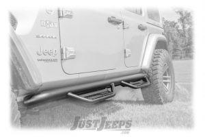 N-FAB Podium Side Steps For 2018+ Jeep Wrangler JL Unlimited 4 Door Models HPJ1866-TX-