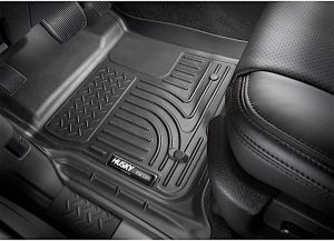 Husky WeatherBeater Front Floor Liners (Black) for 18+ Jeep Wrangler JL, JLU, Gladiator JT 13021