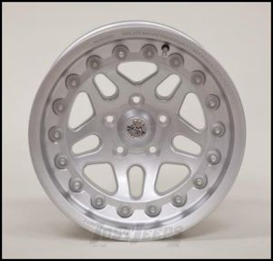 Hutchinson Beadlock Wheel  15 X 8 With 5 On 4.50 Bolt Pattern In Silver 60635-047-03