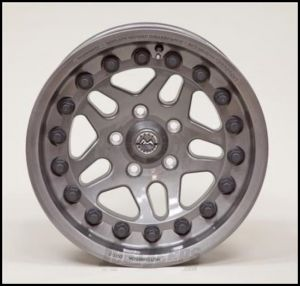 Hutchinson Beadlock Wheel  17 X 8.5 With 5 On 5.00 Bolt Pattern In Argent 60637-023-01