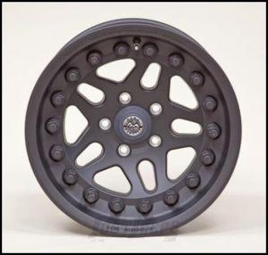 Hutchinson Beadlock Wheel  17 X 8.5 With 5 On 4.50 Bolt Pattern In Black 60638-017-01