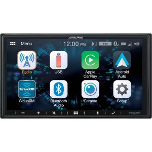 Alpine MECHLESS 7 INCH BT CP AND AA MEDIA PLAYER ILX-W650