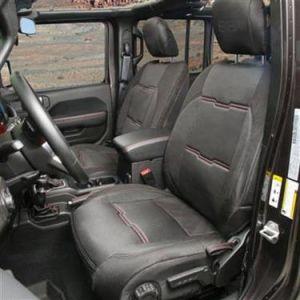 Smittybilt GEN2 Neoprene Front and Rear Seat Cover Kit For 2018+ Jeep Wrangler JL Unlimited 4 Door Models 5771-