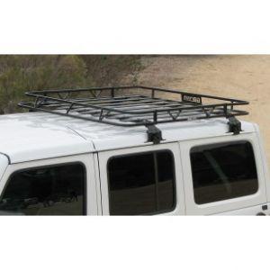 Garvin Wilderness Hardtop Cargo Rack For 2018+ Jeep Wrangler JL Unlimited 4 Door Models