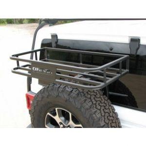 Garvin Wilderness Trail Rack For 2018+ Jeep Wrangler JL 2 Door & Unlimited 4 Door Models 20000
