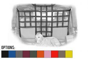 Dirtydog 4X4 Front Seat Pet Divider For 2007-18 Jeep Wrangler JK 2 Door & Unlimited 4 Door Models J4PD07F1-