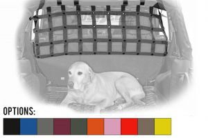 Dirtydog 4X4 Rear Seat Half Length Pet Divider For 2007-18 Jeep Wrangler JK Unlimited 4 Door Models J4PD07R1-