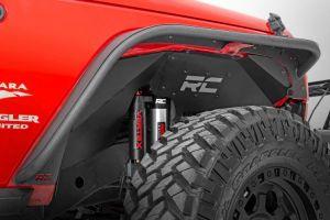 Rough Country Front Inner Fenders | Vertex Shocks for 07-18 Jeep Wrangler JK, JKU 1195V