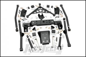 "Rough Country 4"" Long Arm Upgrade Kit For 1999-04 Jeep Grand Cherokee WJ 90900U"