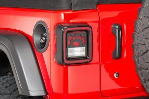 Jeep Tweaks Train Brake Taillight Guards For 2018+ Jeep Wrangler JL 2 Door & Unlimited 4 Door Models JT19-B