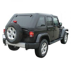 ProMaxx Automotive Fast Back Style Slant Hard Top For 2007-18 Jeep Wrangler JK Unlimited 4 Door Models JEEP074200