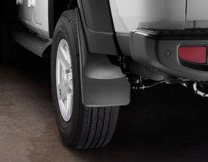 WeatherTech Mudflaps Rear Set For 2020+ Jeep Gladiator JT 4 Door Models 120113
