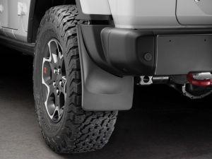 WeatherTech Mudflaps Rear Set For 2018+ Jeep Wrangler JL Rubicon Models 120100