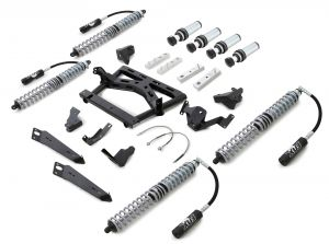 Rubicon Express Front & Rear Coilover Upgrade Kit with Air Bumpstops For 2007-18 Jeep Wrangler JK Unlimited 4 Door Models JK004CC