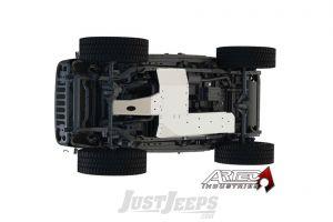 Artec Industries Aluminum Under Armor Belly Pan Kit For 2007-11 Jeep Wrangler JK Unlimited 4 Door Models JK1011