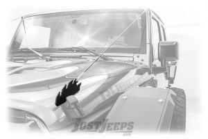 Fab Fours Limb Riser For 2007-18 Jeep Wrangler JK 2 Door & Unlimited 4 Door Models JK1061-1