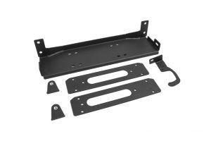 JCR Offroad Hardrock Winch Plate For 2013-18+ Jeep Wrangler JK 2 Door & Unlimited 4 Door Models