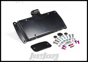 JKS Tailgate Mount License Plate Relocation Bracket For 2007-18 Jeep Wrangler JK 2 Door & Unlimited 4 Door Models 8210