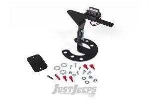 JKS Spare Tire Mount License Plate Bracket For 1987-18 Jeep Wrangler YJ, TJ, TJ, JK 2 Door & Unlimited 4 Door Models 8211
