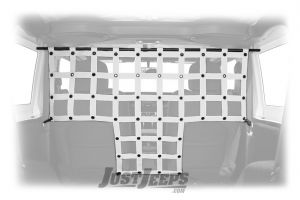 DIrtyDog 4x4 Front Pet/Cargo Divider For 2018+ Jeep Wrangler JL 2 Door Models JL2PD19F-