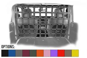 Dirtydog 4X4 Front Seats Screen Cargo / Pet Divider For 2018+ Jeep Wrangler JL Unlimited 4 Door Models JL4PD18F-