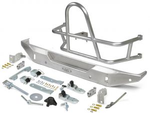 Genright Off Road Swing Out Rear Tire Carrier & Bumper Package - Aluminum For 2018+ Jeep Wrangler JL 2 Door & Unlimited 4 Door Models RTC-RBB-PKG-JL-A