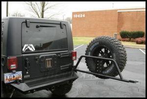Fab Fours Optional Tire Carrier For 1997-12 Jeep Wrangler TJ Models, JK 2 Door & Unlimited 4 Door (Optional Addition to JK07-Y1251-1 or JK07-Y1251-1) JP-Y1251T-1