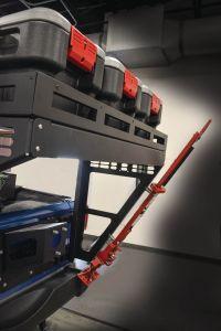 MorRyde Overland Rack Jack Carrier For 2007-18 Jeep Wrangler JK 2 Door & Unlimited 4 Door Models JP54-054