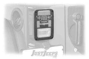 Jeep Tweaks Original Jeep Grille Tail Light Guards For 2007-18 Jeep Wrangler JK 2 Door & Unlimited 4 Door Models