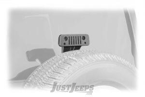 Jeep Tweaks Jeep Grille Third Brake Light Guard For 2007-18 Jeep Wrangler JK 2 Door & Unlimited 4 Door Models 12-B
