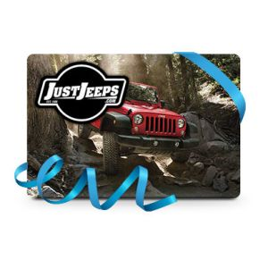 Just Jeeps Gift Card For $100