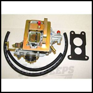 Omix-ADA Weber Carburetor Assembly For 1980-83 Jeep CJ Series With GM 2.5L & 1984-86 Jeep Cherokee XJ With 2.8L (38 DGES) 17702.02