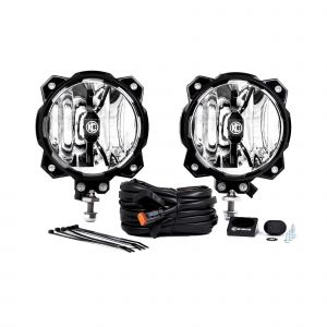 KC HiLiTES Gravity LED Pro6 Single Pair Pack System with Driving Beam Pattern (20 Watts) 91303