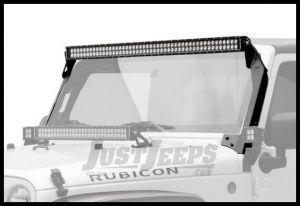 KC HiLiTES Overhead Mount C50 LED Bar & Bracket System For 2007-18 Jeep Wrangler JK 2 Door & Unlimited 4 Door Models 366