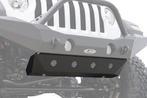 LoD Offroad Front Bumper Skid Plate for 18+ Jeep Wrangler JL & 20+ Gladiator JT with Destroyer Series Bumper JSP1801