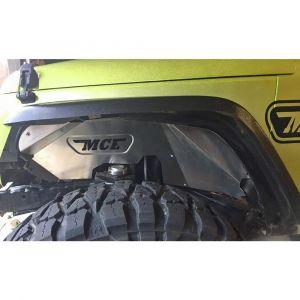 MCE Fenders Front Inner Fenders (Bare) For 2007-2018 Jeep Wrangler JK 2 Door & JK Unlimited 4 Door Models FFJKIF-F